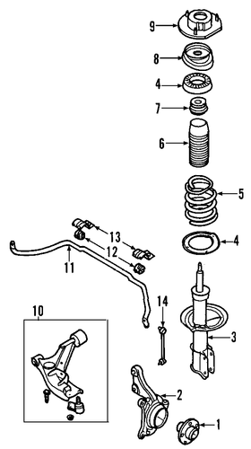 Front Suspension Scat furthermore Gm Lower Arm 22678193 furthermore Gm Rotor 20879455 also Gm Shock Absorber 21992495 likewise Gm Lower Control Arm 15787556. on saturn ion air ride