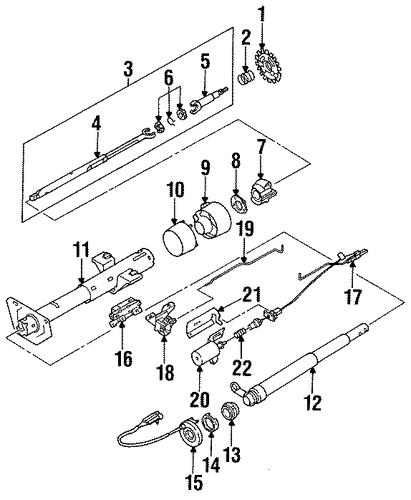 switches 1996 cadillac fleetwood oem  u2013 new gm parts