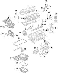 2011-2015 Ford F-250 Super Duty Camshaft BC3Z-6250-D