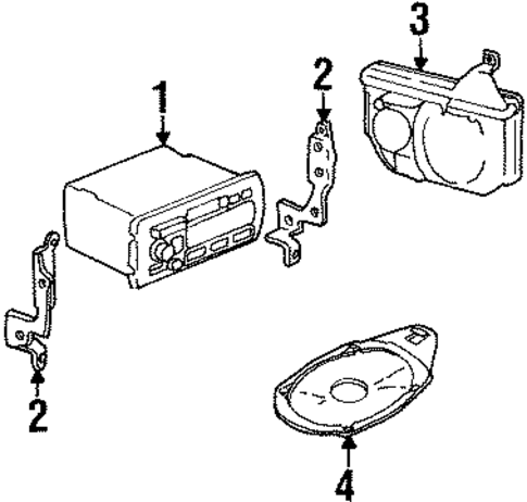 Cadillac Eldorado Relay Diagram