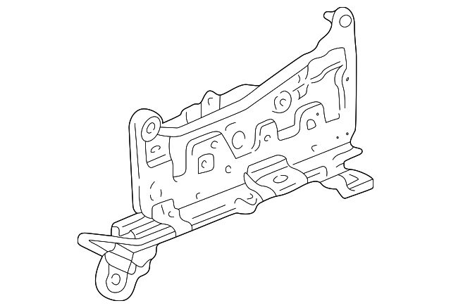 2001 Honda CR-V LX (2WD) ADJUSTER, R. SLIDE (OUTER) - (81260S10J11)