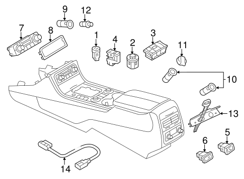 2014 vw touareg fuse box diagram