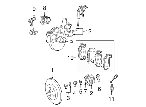 92 Ford F350 Fuel System Diagram furthermore Brake  ponents Scat further 1996 Ford Contour Engine Diagram besides X Trail 2005 Power Supply Ground Circuit Elements Section Pg 52391 additionally T4529244 2000 lincoln town car fuse. on lincoln 2003 fuses