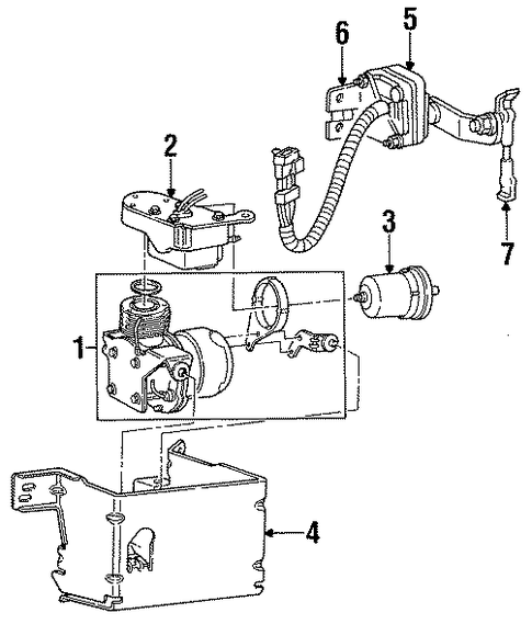 auto leveling components for 1996 cadillac fleetwood