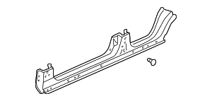 1996 Honda CIVIC SEDAN DX PANEL, L. SIDE SILL - (04641S04Y00ZZ)