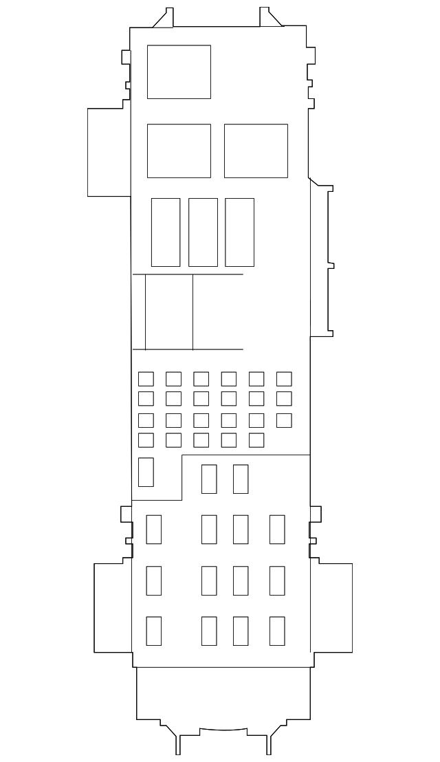 Jeep Srt8 Fuse Box : Distribution box for jeep grand cherokee ab