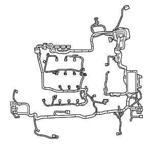 2013-2015 Ford Taurus Wire Harness EG1Z-14290-AA