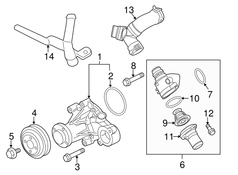 f150 engine with Water Pump Scat on Ford F 150 1990 Ford F150 Fuel Pump Problems besides 78fm8 Need Know Set Timing F150 4 6l Cylider Romeo likewise Ford F Series F 350 1996 Fuse Box Diagram Usa Version in addition Ford Fusion Drive Belt Diagram Html besides Ford 3 0l Engine Diagram.