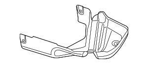 2014 Dodge Dart Heat Shield 68089282AE