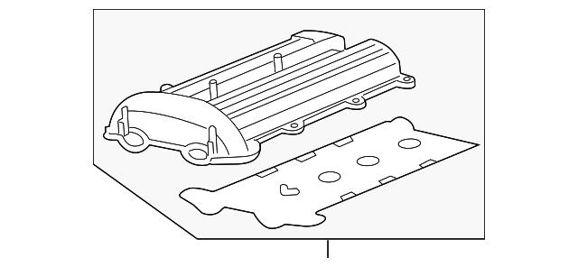 valve cover for 2013 chevrolet cruze