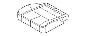 2013-2015 Lincoln MKT Cushion Cover DE9Z-7463804-BA
