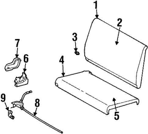 Front Seat  ponents Scat furthermore Dodge Dakota Bad Map Sensor together with Honda Accord88 Radiator Diagram And Schematics also 1968 Roadrunner Wiring Diagram likewise Stripe Tape Scat. on dodge dart body parts diagram