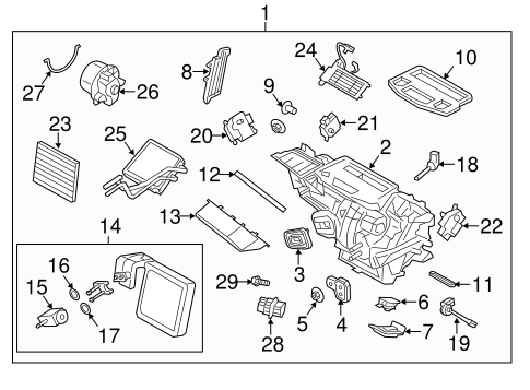 Discussion T27419 ds617304 moreover Subaru Heater Core Hose Location furthermore Buick Regal Blend Door Location together with Pt Cruiser Expansion Valve Location besides 2000 Gmc Truck Heater Diagram. on 2002 suburban heater core replacement