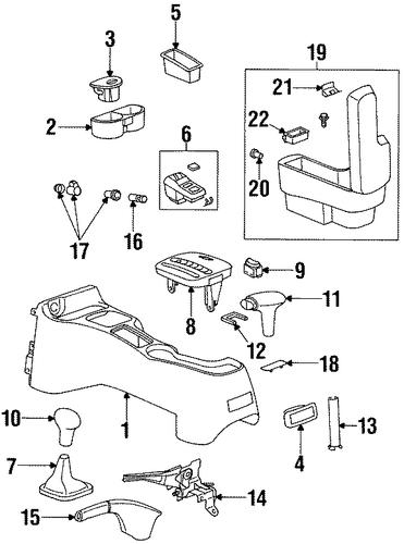 21012382 parking brake control for 1998 saturn sl2