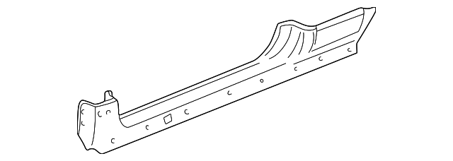 1996 Honda CIVIC HATCHBACK CX PANEL, R. SIDE SILL - (04631S00A00ZZ)
