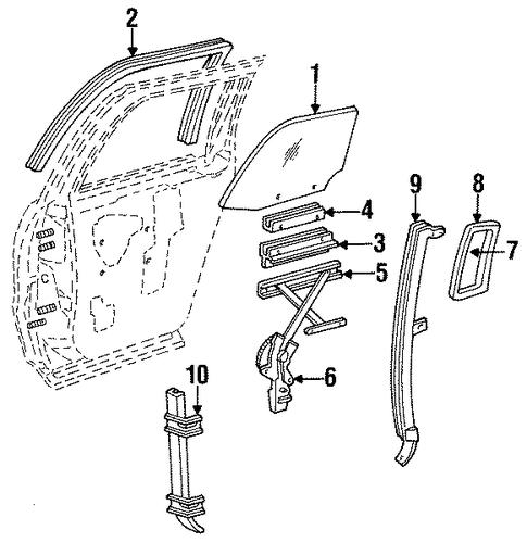 1995 cadillac brougham parts catalog