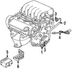 1995 Chrysler Cirrus Egr Valve 4287635