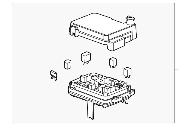 fuse box for 2014 gmc terrain