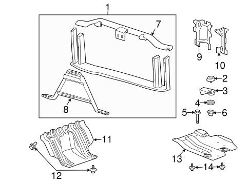 Mercruiser Bell Housing Parts