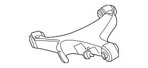 2003-2006 Lincoln LS Lower Cntrl Arm 6W4Z-5A649-AB