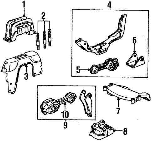 Kia Forte Engine Mount Location