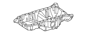 2011-2014 Mercedes-Benz CL550 Oil Pan 278-010-02-13