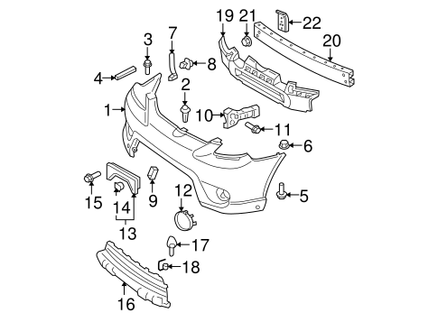 03 Highlander 3 0 Engine Diagram
