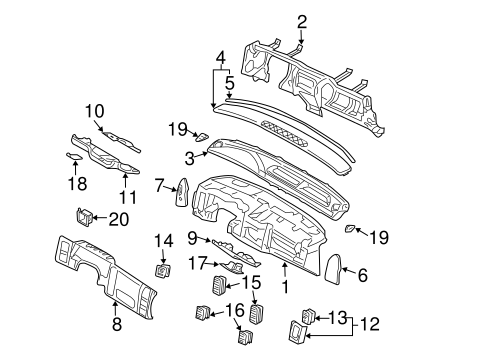 Parts For 2001 Chrysler Concorde Hood on jeep cherokee wiper wiring diagram