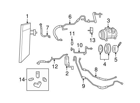 mopar a c compressor refrigerator compressor wiring