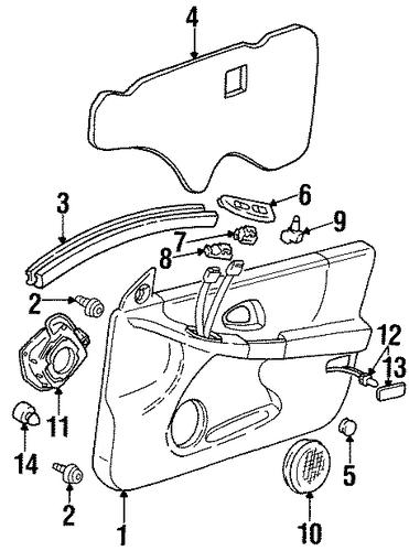 body  interior trim
