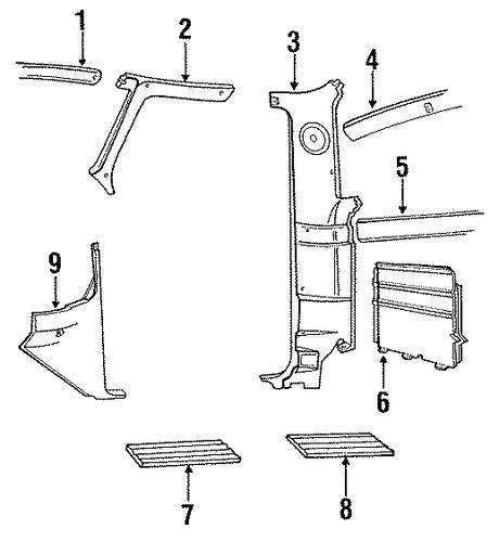 ford interior trim