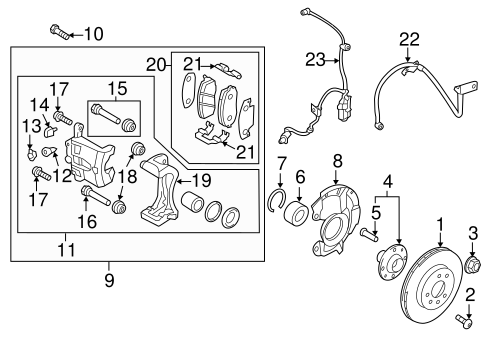 Accent Brake Parts