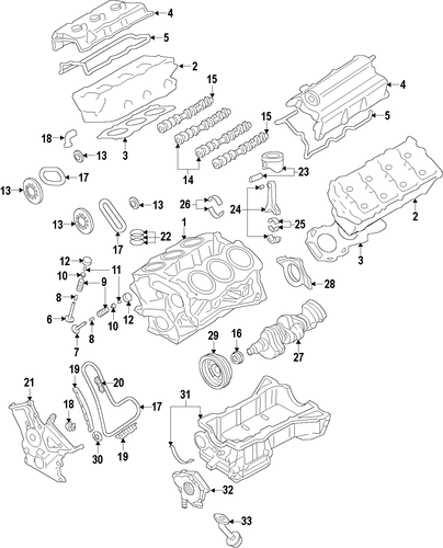Engine For 2014 Ford Edge
