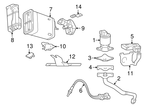 Mazda Miata Parts Diagram