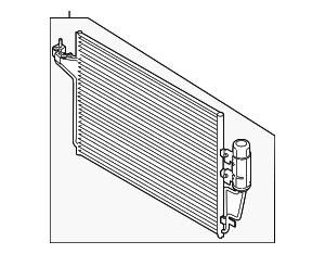 2013-2015 Ford Escape Condenser CV6Z-19712-H