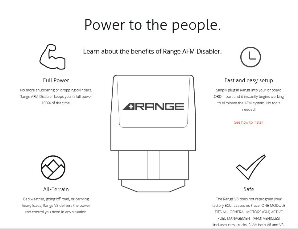 Reviews Range Afm Disable Device For Camaro Autos Post