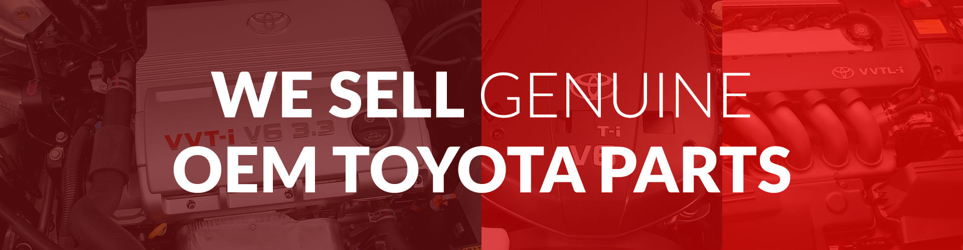 Genuine OEM Toyota Parts