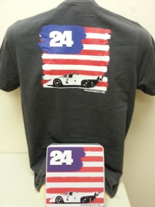 Porsche 917_USA Flag Tee Shirt