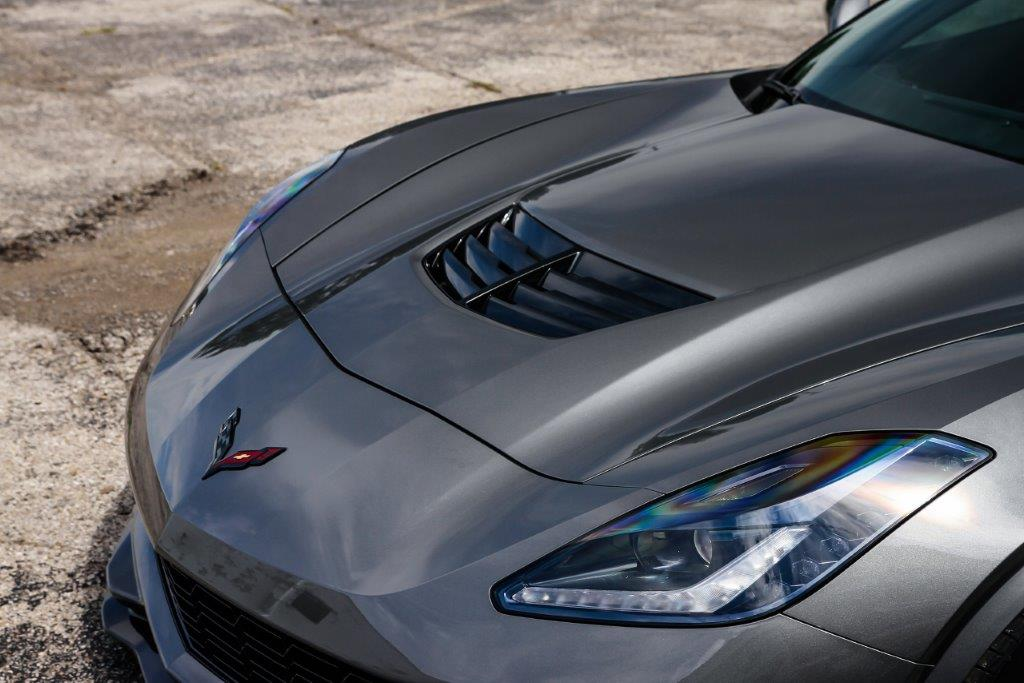 Chevrolet Corvette Rear C7 Black Emblem Genuine OEM New GM Part  2014-2017
