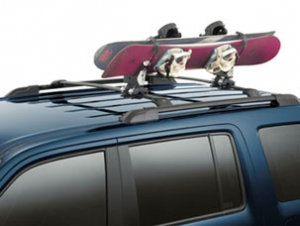 2011 Honda Pilot Snowboard Attachment