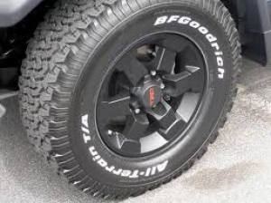 TRD WHEEL - 6 SPOKE, MATTE BLACK