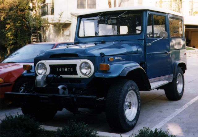 vintage toyota land cruiser parts