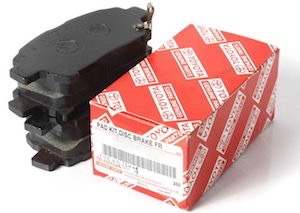 oem camry brake pads olathe toyota parts center. Black Bedroom Furniture Sets. Home Design Ideas