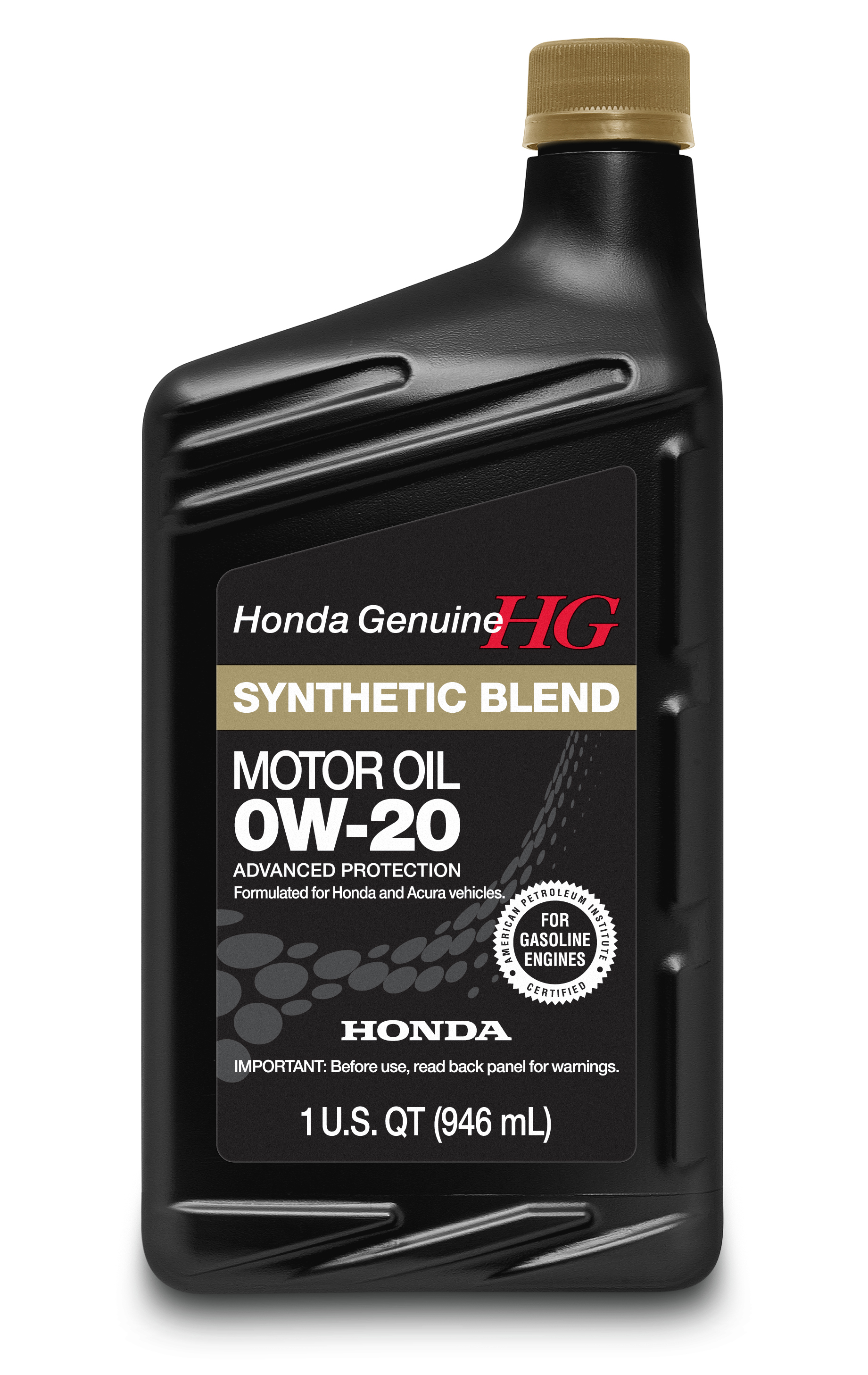 Oil syn blend 0w20 genuine honda 08798 9036 for Honda civic oil change cost