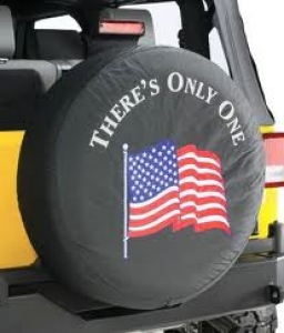 Mopar 82207713 U.S Flag Spare Tire Cover