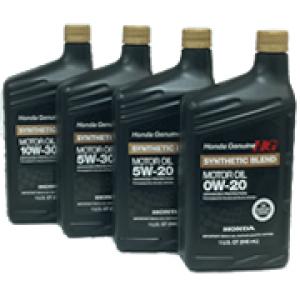 Honda Genuine Synthetic Blend Motor Oil 5w 30