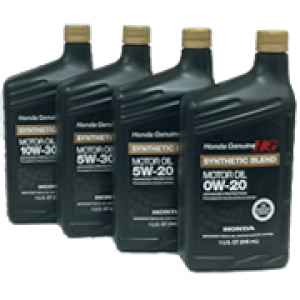 Honda Genuine Synthetic Blend Motor Oil 0w 20