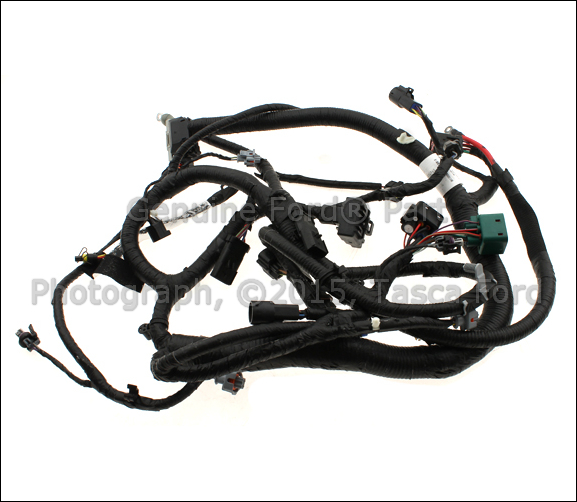 oem ford engine wiring harness 5c3z 12b637 aa tascaparts