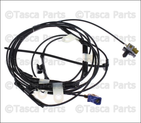 wiring satellite radio genuine mopar 68185912aa