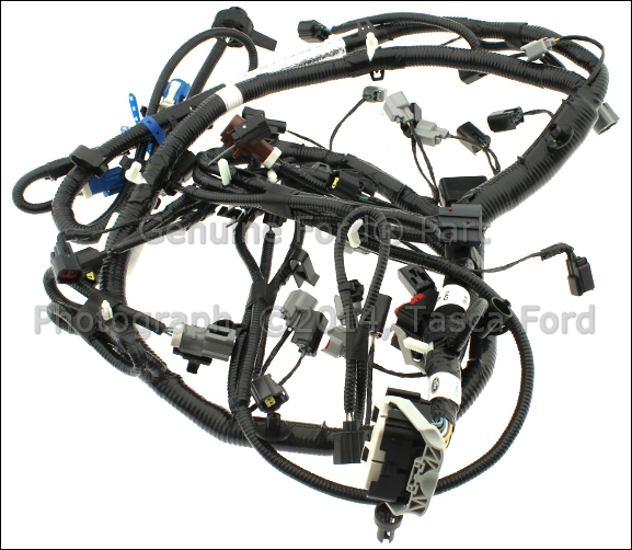 oem ford wiring harness assembly 7l2z 12a581 aa tascaparts